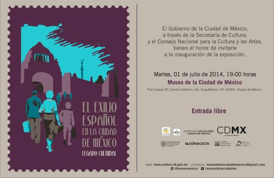 El exilio español en la Ciudad de México. Legado cultural