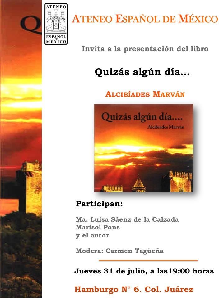 Invitación A. Marván