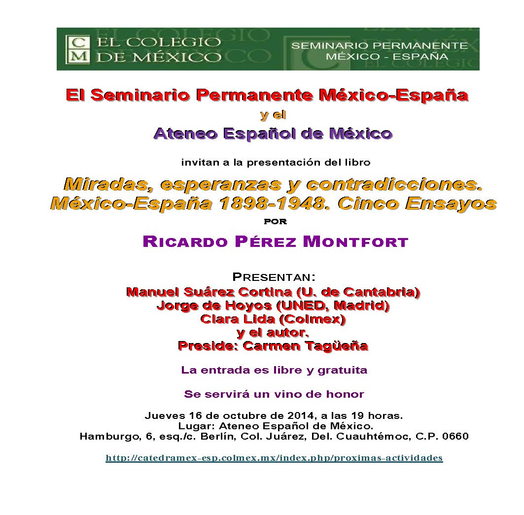AEM-SPME Libro Pérez Montfort