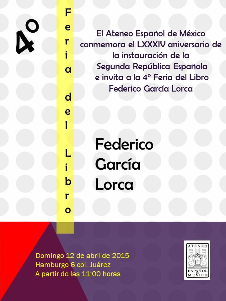 Feria del Libro invitación