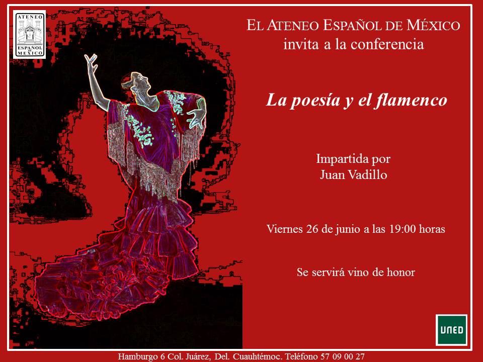 Conferencia La poesía y el flamenco - 26 de junio de 2015