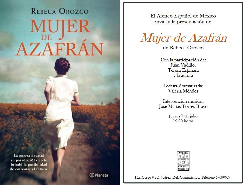 7 de julio Mujer de Azafrán