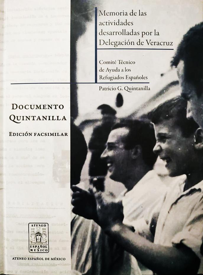 Documento Quintanilla. Memoria de las actividades desarrolladas por la Delegación de Veracruz. Image