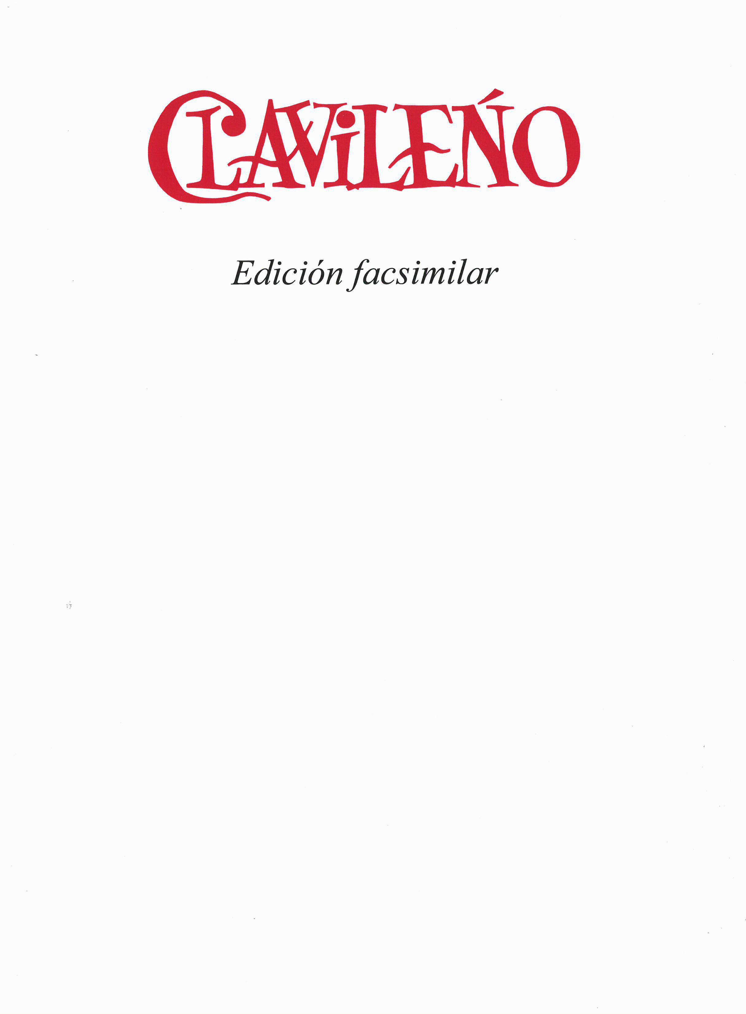 CLAVILEÑO Image