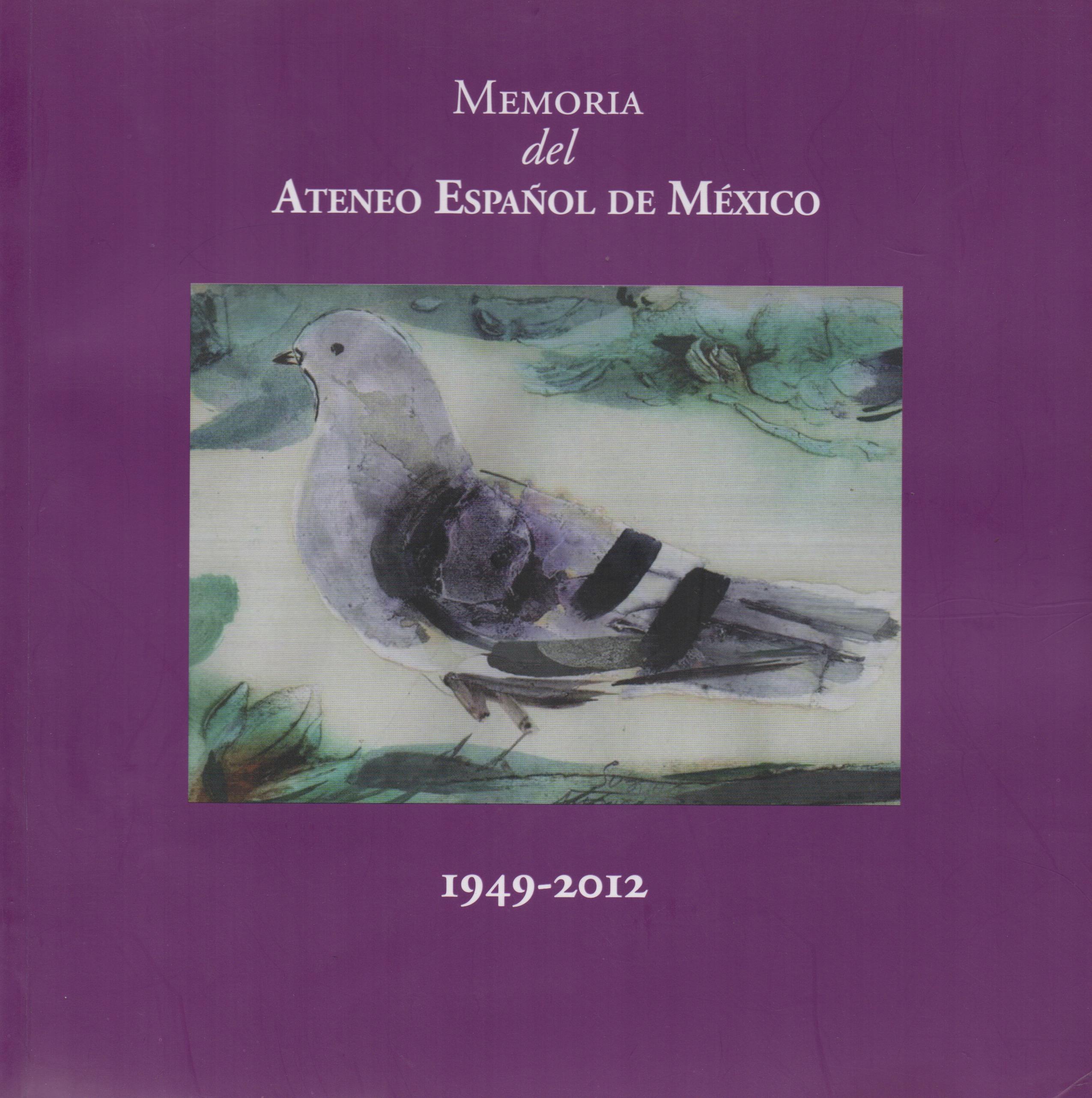 Memoria del Ateneo Español de México. 1949–2012 Image
